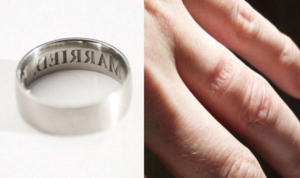 Как избавится от кольца подаренного